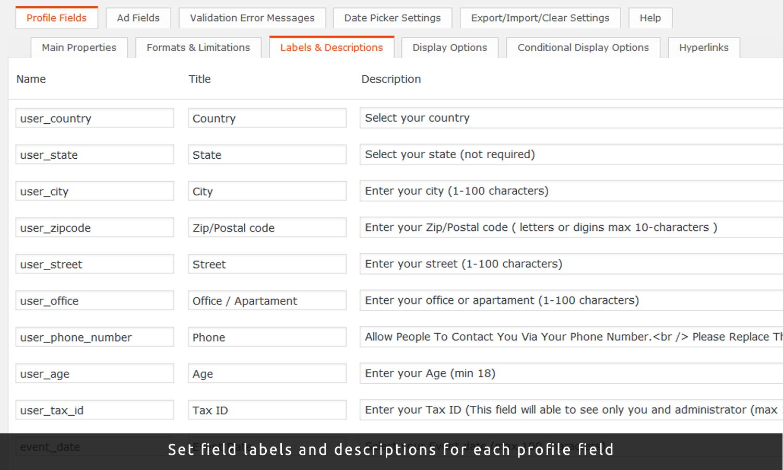 Advanced Custom Fields ClassiPress Plugin