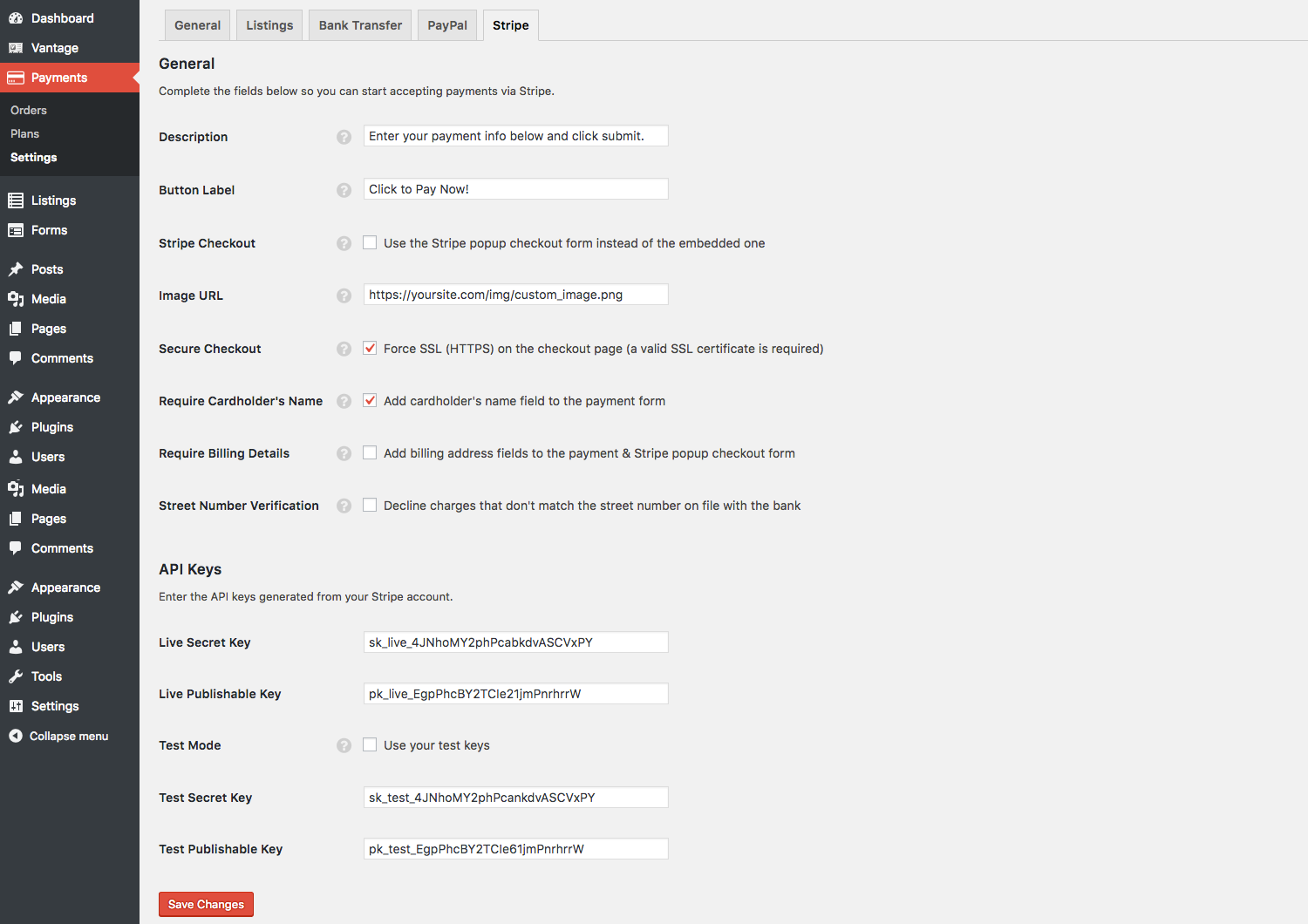 Easy to setup and customize from within your AppThemes admin area.