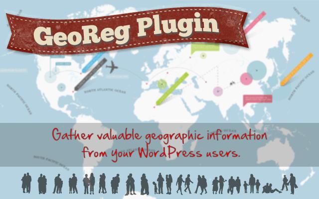 GeoReg - WordPress Geolocation GeoIP Plugin