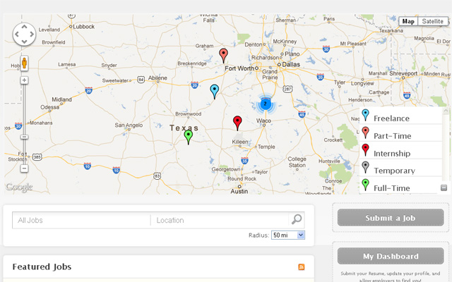 Home Page Grouped Pin Point Map