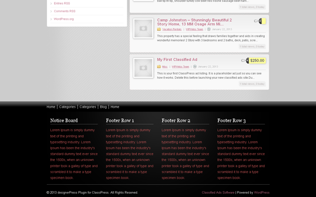 Home Footer