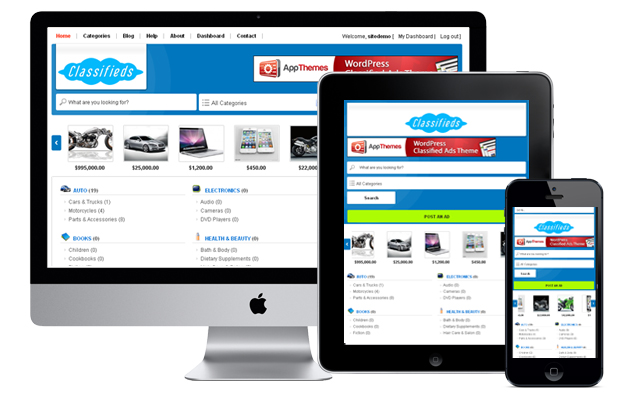 UltraClassifieds is fully responsive