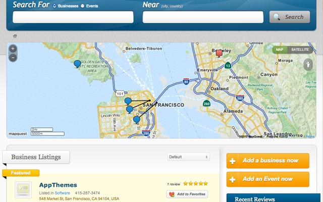 MapQuest WordPress Plugin for Vantage