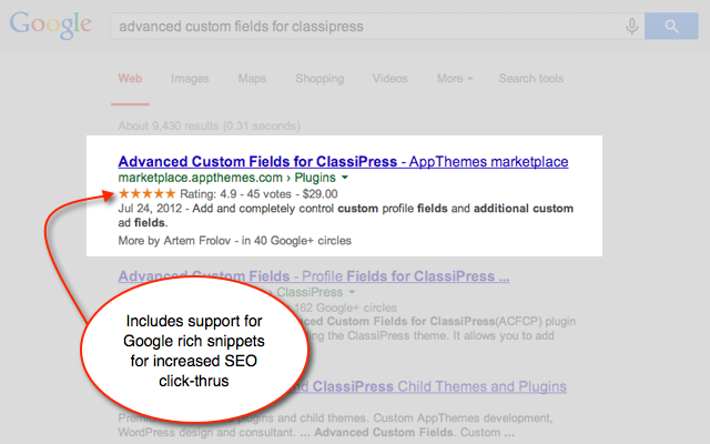 Boost your rankings and click-thru rates in Google.