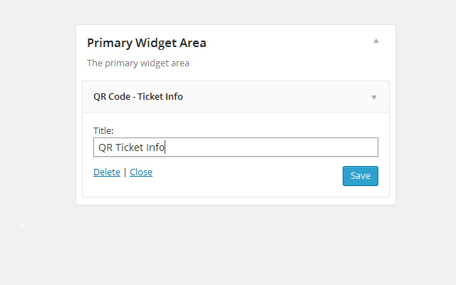 Adding widget in wp-admin