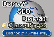 Display GEO Distance