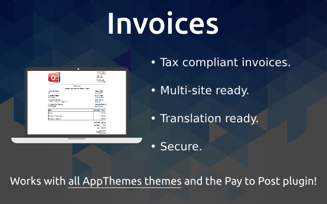 Invoices WordPress Plugin