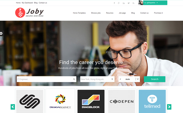 Joby Job Board AppThemes Marketplace - Contact us map is not working in job career theme