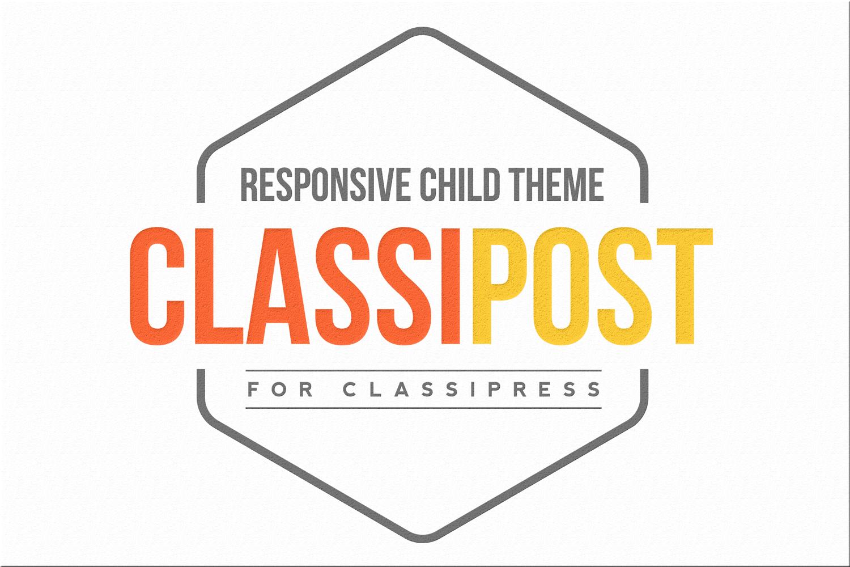 ClassiPost   AppThemes Marketplace