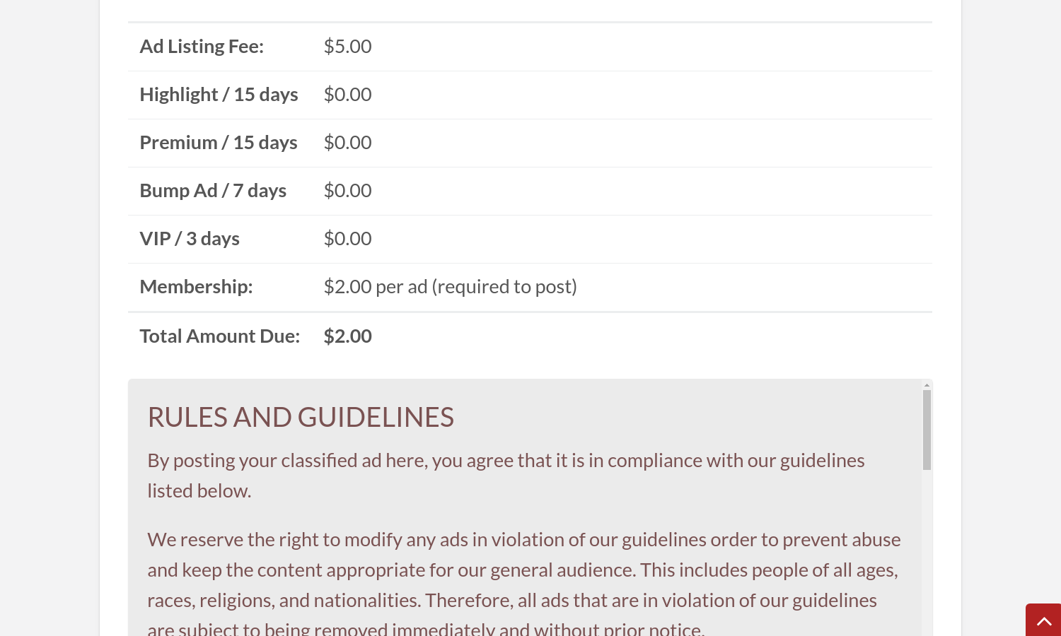 Add-ons included to the package do not affect the total cost, but you can see them in a…